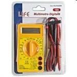 MULTIMETRO TESTER DIGITALE 10A C/BUZZER DISPLAY LCD